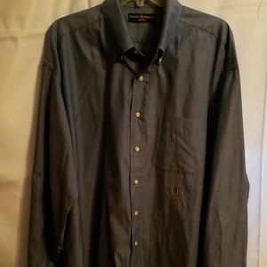 Tommy Hilfiger Dress Button Down Lion Crest Shirt